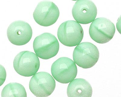 Czech Glass Pale Mint Pearl Druk 10mm