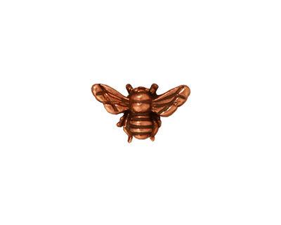 TierraCast Antique Copper (plated) Honey Bee 9x15mm