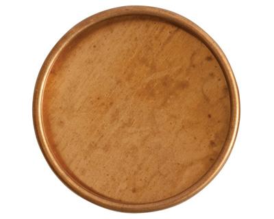 Nunn Design Brass Grande Deep Circle Bezel (no loop) 38mm