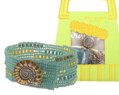 Glass Garden Lighthouse Ndebele Bracelet Kit