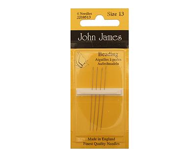 John James Size 13 English Beading Needles