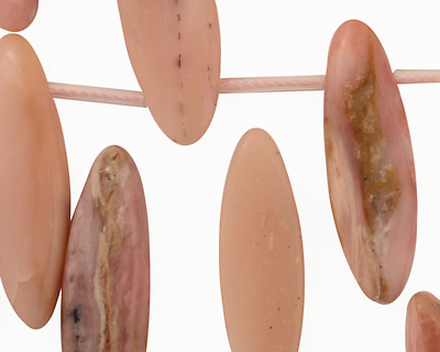 Pink Opal Spear Drops 7-13x22-33mm