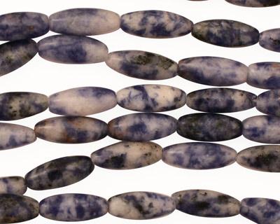 Brazil Sodalite Rice 12x5mm