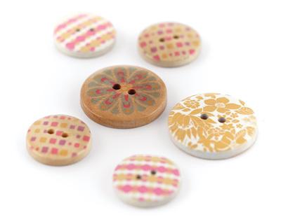 Soleil Wooden Buttons