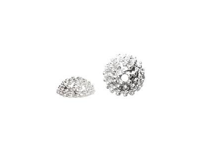 Nunn Design Sterling Silver (plated) Urchin Bead Cap 5x12mm