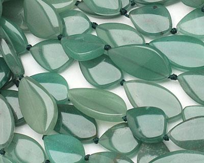 Green Aventurine Flat Freeform Piece 20-30x15mm