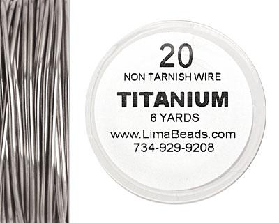 Parawire Titanium 20 gauge, 6 yards