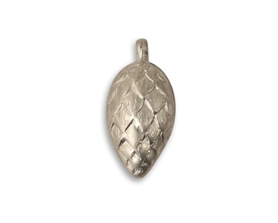 Vintaj Pewter Napping Pine Cone 11x23mm