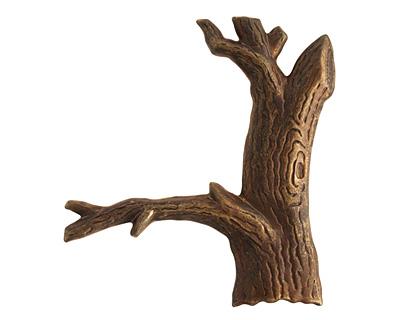 Vintaj Natural Brass Tree 57x48mm