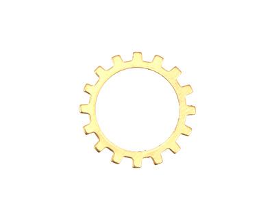 Brass Open Gear 19mm