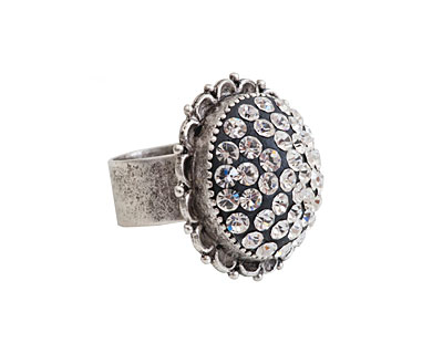 Nunn Design Antique Silver (plated) Ornate Ring Kit