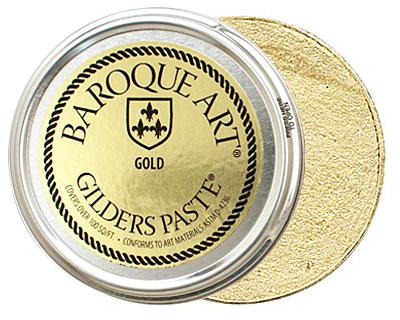 Gold Baroque Art Gilders Paste 100ml