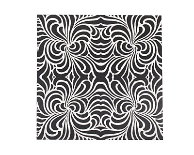 Lillypilly Black Morphed Anodized Aluminum Sheet 3
