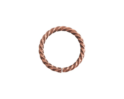 Nunn Design Antique Copper (plated) Grande Rope Jump Ring 17mm