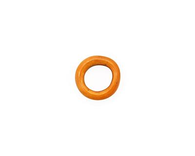 C-Koop Enameled Metal Mandarin on White Ring 10-11mm
