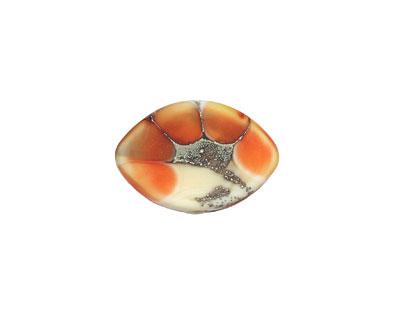 A Beaded Gift Silvered Coral Garden Zulu 13x19mm