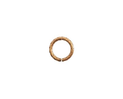 Nunn Design Antique Gold (plated) Textured Jump Ring 9mm, 16 gauge