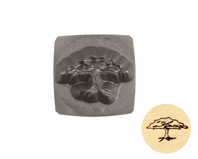 Tree of Life Metal Stamp 6mm