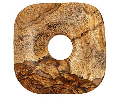 Picture Jasper Square Donut 50mm