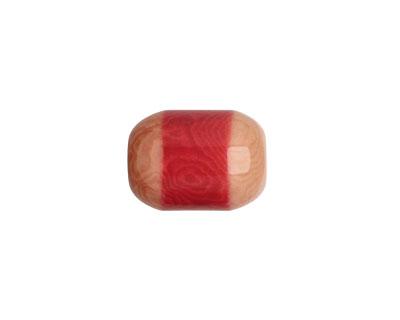 Tagua Nut Angel Skin Bicolor Barrel 23-24x16-17mm