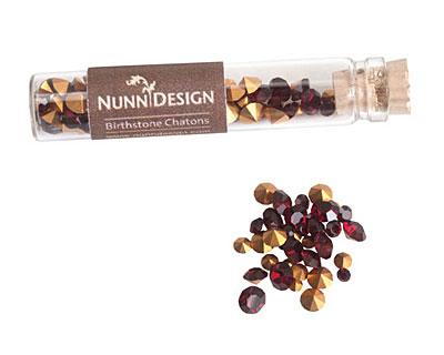 Nunn Design Garnet Crystal Chaton 5g