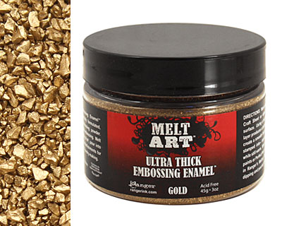 Melt Art Gold Ultra Thick Embossing Enamel 3 oz.