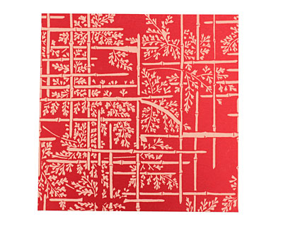 Lillypilly Red Bamboo Anodized Aluminum Sheet 3