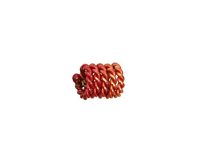 Patricia Healey Copper Coiled Rope 10x8mm