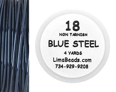 Parawire Blue Steel 18 Gauge, 4 Yards