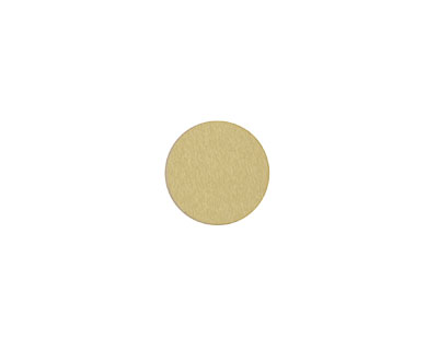 Lillypilly Gold Anodized Aluminum Disc 11mm, 22 gauge