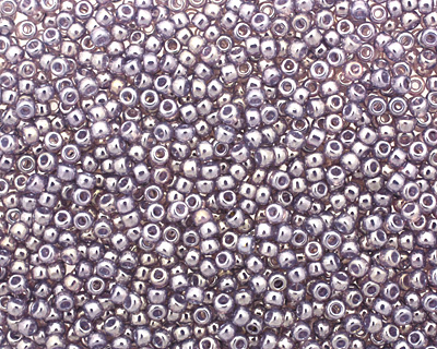 TOHO Gold Lustered Pale Wisteria Round 11/0 Seed Bead