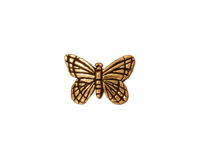 TierraCast Antique Gold (plated) Monarch Bead 11x15mm