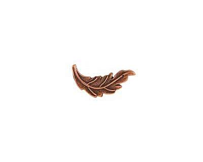Nunn Design Antique Copper (plated) Leaf Toggle Bar 20x7mm