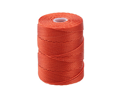 C-Lon Orange (.5mm) Bead Cord