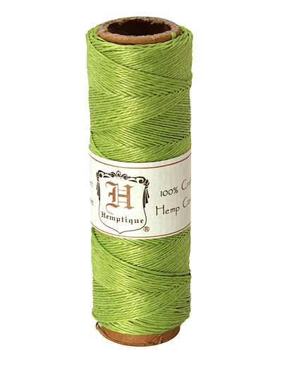 Lime Green Hemp Twine 10 lb, 205 ft