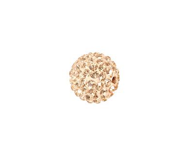 Silk Pave Round 12mm (1.5mm hole)