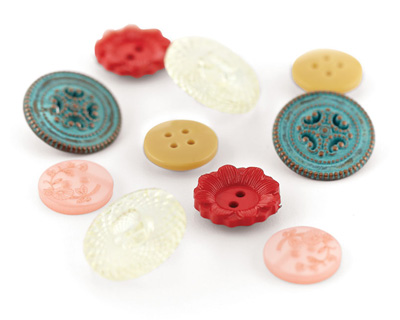 Lucille Vintage Buttons