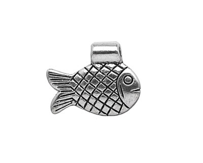 Pewter Fish Pendant 21x17mm