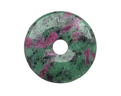 Ruby Zoisite Donut 40mm