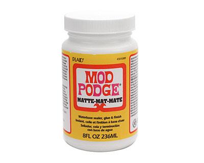Mod Podge (matte) Glue & Sealer 8 fl. oz.