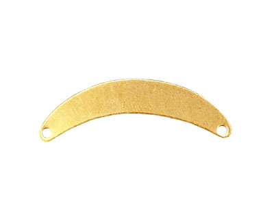 Brass Arch Blank Link 32x8mm