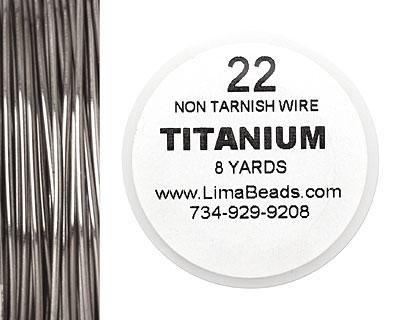 Parawire Titanium 22 gauge, 8 yards