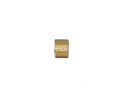 Zola Elements Matte Gold (plated) Grooved Barrel Bead Slide 5x7mm