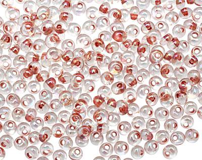 TOHO Rainbow Crystal (with Sandstone Lining) Magatama 3mm Seed Bead