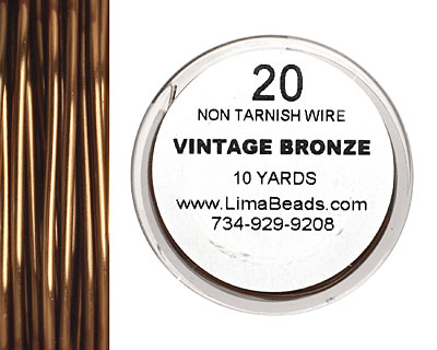 Parawire Vintage Bronze 20 gauge, 10 yards