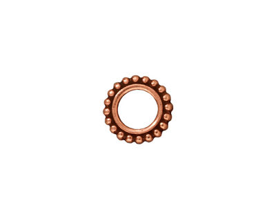 TierraCast Antique Copper (plated) 6mm Round Bead Frame 11mm