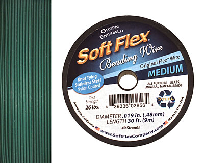 Soft Flex Green Emerald .019
