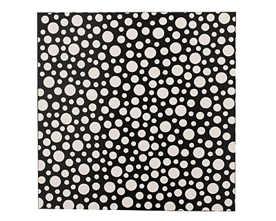 Lillypilly Black Scattered Dots Anodized Aluminum Sheet 3