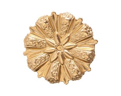Nunn Design Brass Grande Medallion Embellishment 28mm