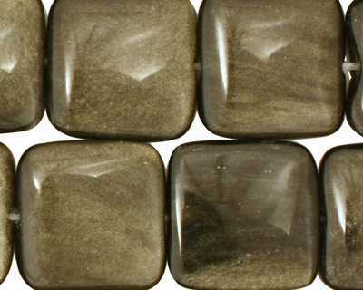 Rainbow Obsidian Puff Square 20mm